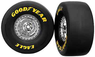 Traxxas 6973 Tires and Wheels Funny Car Rear, 2-Piece