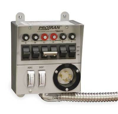 RELIANCE 30216A Manual Transfer Switch, 60A, 125/250V