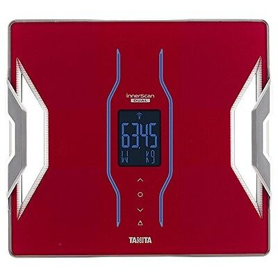 NEW Tanita Body Composition Meter INNER SCAN DUAL Red RD-903-RD