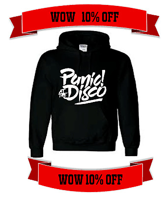 Brand New 2017 panic at the disco unisex hoodie