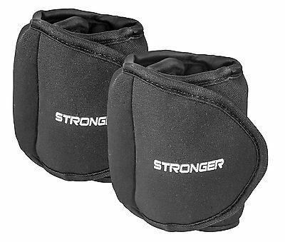 Ankle Adjustable Wrist Leg Exercise Weighted Weights Vest Hand Fitness 2x1 Pound
