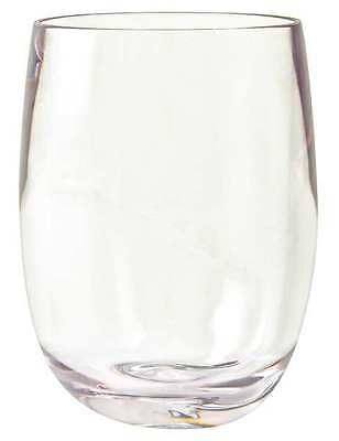 Virtually Unbreakable Stemless Wine Glass, Clear ,Strahl, 408403