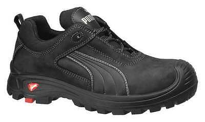 Size 7 Athletic Style Work Shoes, Men's, Black, Composite Toe, EEE, Puma Safety