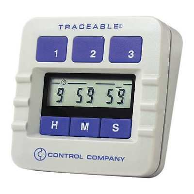 TRACEABLE 5002 Lab Timer,Display 1/4 In,LCD