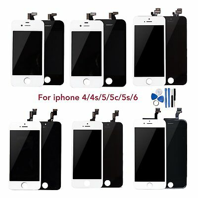 Retina LCD Display Touch Screen Digitizer Assembly For iPhone4 4s 5 5s 5c 6 Plus