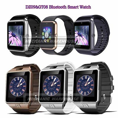 Bluetooth DZ09&GT08 Smart Watch with GSM SIM Card Slot For HTC Android Phone UK