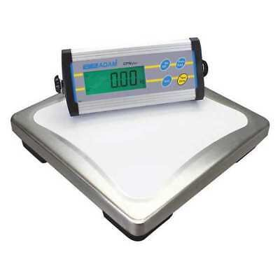 ADAM EQUIPMENT CPWPLUS35 Weighing Scale, SS Pltfrm, 35kg/75 lb. Cap