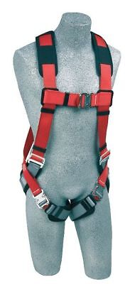 Red Full Body Harness, 1191254, Protecta