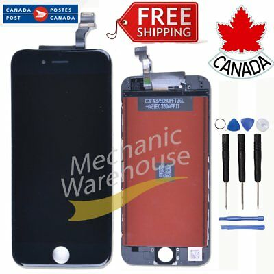 "For iPhone 6 4.7"" LCD Display Touch Screen Digitizer Assembly  Replacement Black"