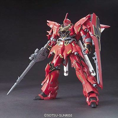 Bandai 1/144 HGUC 116 GUNDAM MSN-06S SINANJU Mobile Suit from Japan Rare
