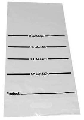 DAYMARK IT114811 Cook Chill Bag,12 x 24 In.,Pk 100
