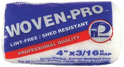 PREMIER 441 Paint Roller Cover,4 In,Nap 3/16 In