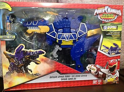 New Power Rangers Dino Super Charge Deluxe Spino Zord Action Figure