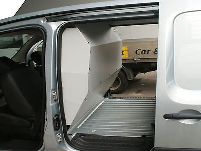 Van Guard Bulkhead for Renault Kangoo 2009 On Solid Bulkhead