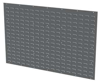 AKRO-MILS 30655GY Louvered Panel,52 x 5/16 x 34-1/8 In
