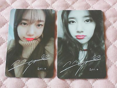MISS A SUZY 1st Mini Album YES? NO? Photocard KPOP JYP