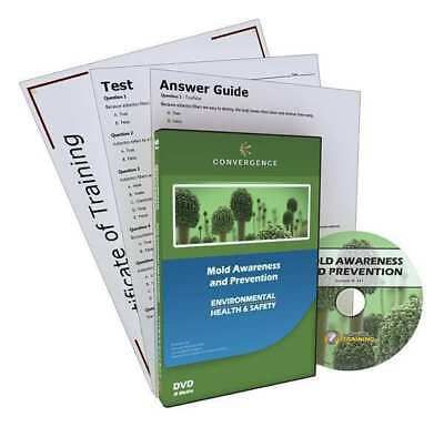 CONVERGENCE TRAINING C-361 Mold Awareness and Prevention, DVD, 13 min