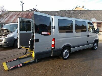 Wheelchair Accessible Wav Disabled Renault Master 2.5 Diesel Ricon Lift Low Mile