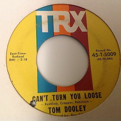 Tom Dooley-Can't Turn You Loose/you're My Baby-Trx 5009. Vg+