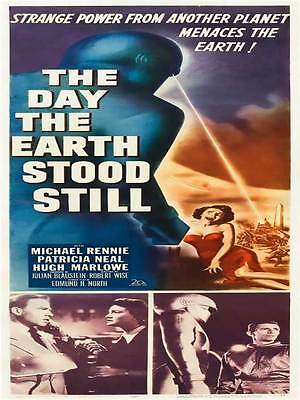 "Framed Classic vinatge movie poster ""The Day The Earth Stood Still"" 30% off"