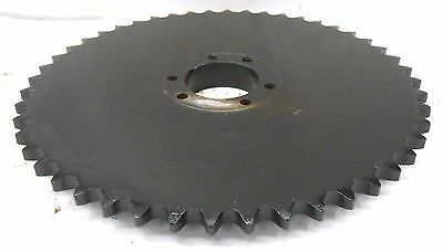 "Roller Chain Sprocket 100Ewb, 48 Teeth, #100 Chain, 1 1/4"" Pitch. 19 3/4"" Od"