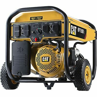 CAT RP7500E - 7500 Watt Electric Start Portable Generator