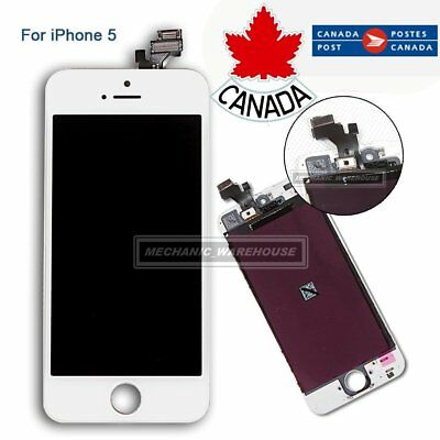For iPhone 5 5G White LCD Touch Screen Digitizer Display Assembly Replacement CA