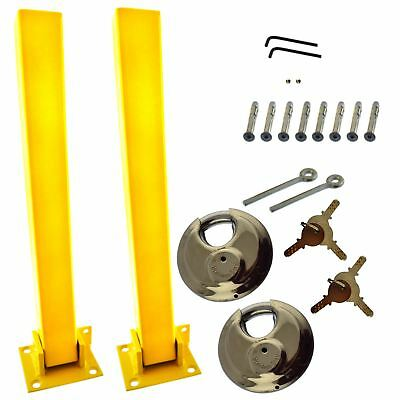 Security Post Fold Down Retrofit & Fitting Bolts Caravan Trailers 2 PACK TR180