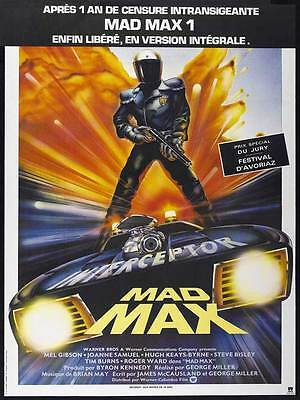 "Framed Classic vinatge movie poster ""Mad Max"" 30% off"
