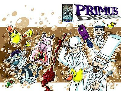 Rock & Roll Biographies Featuring Primus #1 Les Claypool 1St Printing Vf/nm 2015