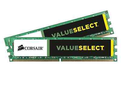 DDR3 CORSAIR Value Select 2X8 16gb 1333Mhz CL9 240pin
