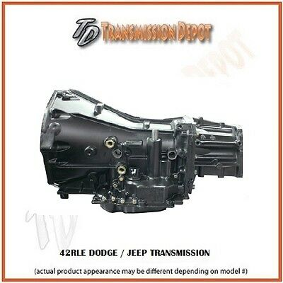 42RLE Dodge/Jeep Transmission Stock Replacement Fits 3.7 & 4.7 Motors 2wd or 4x4