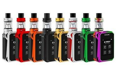 NEW  SMOK G-PRIV   220W TOUCH SCREEN KIT IN WITH NEW BIG BABY Eu TANK TPD