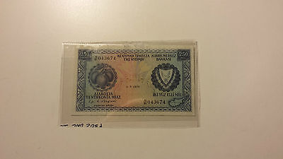Cyprus Bank Note - 250 Mils for sale!!
