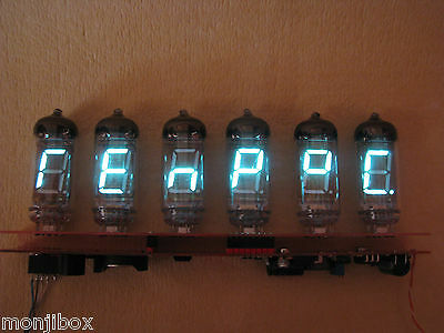 Special EDITION-Alarm Clock Thermometer VFD IV11 Monjibox ENHANCED Assembled kit