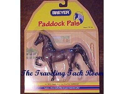 Breyer Paddock Pal Rose Grey Saddlebred #1616 NIP Retired