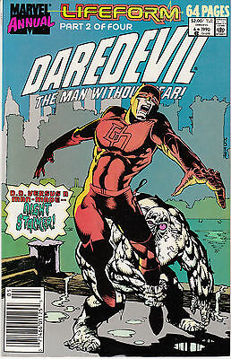 Daredevil Annual #6 (1990, Marvel) Lifeform Part 2 of 4