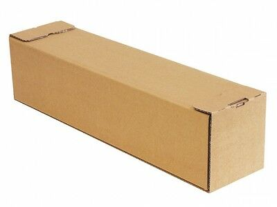 50 x Poster Long Cardboard Shipping Mailing Postal Box Square Tube 860mm x 105mm