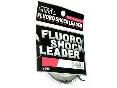 YAMATOYO 16lb 100% fluorocarbon tippet / leader 20m (65') ***MADE IN JAPAN***