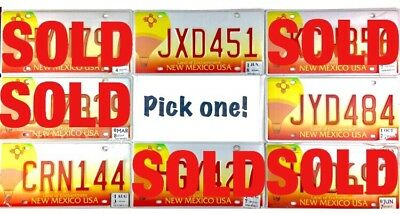 PICK ONE New Mexico Hot Air Balloon License Plate Many To Choose