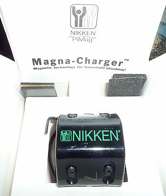Nikken Magna-Charger Focuses Magnetic Field Cold Water Pipes Magnetic Metal Trap