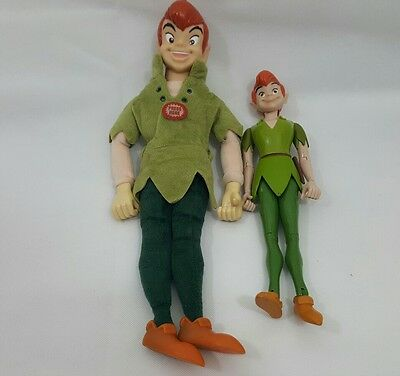 Peter Pan 17inch talking doll and Peter pan doll
