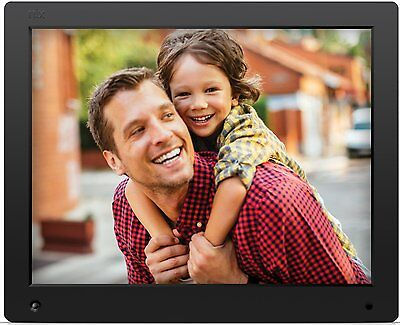 NIX Advance- 15 inch Digital Photo & HD Video 720p Frame with Motion Sensor & -