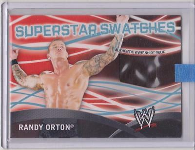 Wwe  Randy Orton Shirt Relic Topps 2011 Superstar Swatches