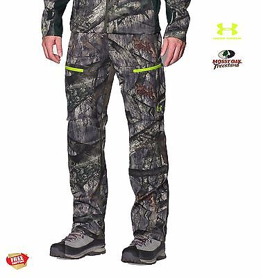 UNDER ARMOUR 3-layer Softershell Men's Hunting Pants sz: 3XL