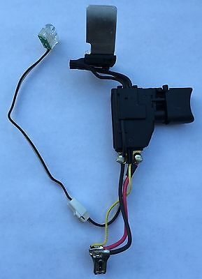 """Makita XPH01 18V LXT Lithium-Ion 1/2"""" Hammer Driver Drill Switch"""