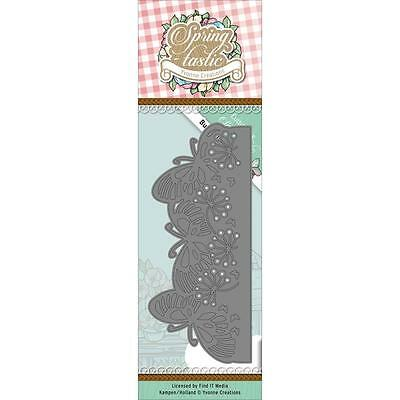 Find It Trading Yvonne Creations Springtastic Die Butterfly Border YCD10085