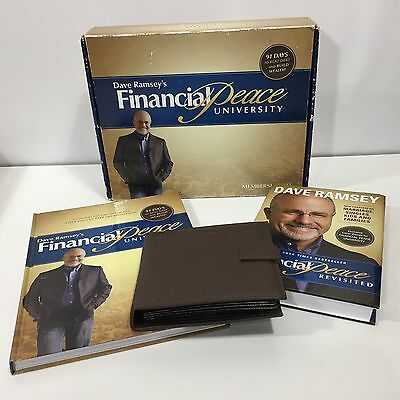 Dave Ramsey Financial Peace University Kit CDs Book Workbook Partially Completed