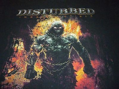 Disturbed 2008 Tour Shirt ( Used Size XL ) Good Condition!!!