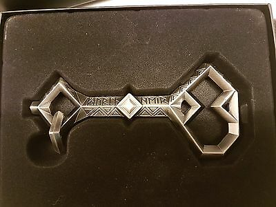 The Key of Thorin Oakenshield, prop replica. The Noble Collection